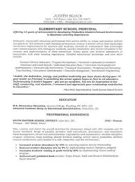 Sample Resume For Teachers With Experience by Assistant Principal Resume Or Cv Sample A K A Vice