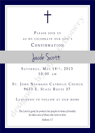 templates for confirmation invitations boys confirmation invitations amazing invitation template design
