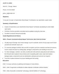 Central Service Technician Resume Sample by Automobile Resume Template U2013 22 Free Word Pdf Documents Download
