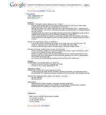 Formatting Education On Resume The Top 10 Non Traditional Resumes That Have Gone Viral Personal