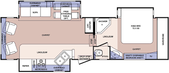 Forest River 5th Wheel Floor Plans Used 2006 Forest River Rv Cardinal 30ts Fifth Wheel At Wilkins Rv