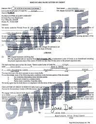 apa format letter sle sle letter of credit 28 images letter of credit documents