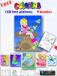 princess coloring book android apps google play