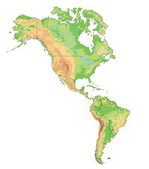 Map Of South And North America by Map South America