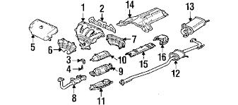 2000 honda accord lx parts parts com honda converter partnumber 18160paal20