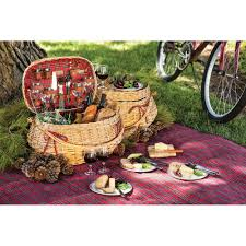 picnic basket for 4 picnic time 302 55 401 000 0 highlander picnic basket in