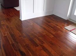anyone with floors in basement brazillian cherry