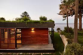 archiblox assembles prefab avalon house on australian cliff