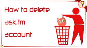 Ask Fm Delete Ask Fm Account Deactivate Account