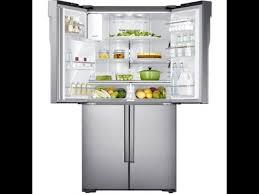 Samsung Cabinet Depth Refrigerator Samsung Rf23j9011sr Counter Depth Refrigerator Youtube