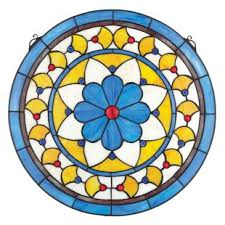 how to tea stain glass l shades stained glass panels you ll love wayfair