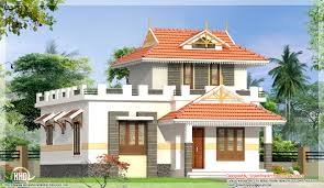 2 bedroom single floor house elevation kerala home design and