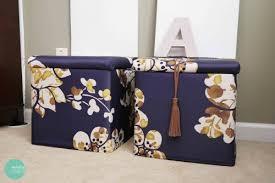 diy custom storage ottoman shelterness