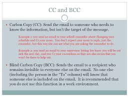 How Does Blind Carbon Copy Work Basics Stands For U201celectronic Mail U201d Digital Message Sent Over The