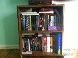 Bookcase With Books Tgif Bookshelf Tour Bethany Larson