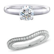 wedding rings and engagement rings how to choose a wedding ring that suits your engagement ring