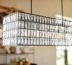 Camilla Chandelier Pottery Barn Adeline Crystal Rectangular Chandelier Pottery Barn For The