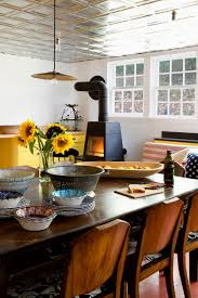 Used Kitchen Cabinets Ct Bold Color In A Connecticut Country House Remodelista
