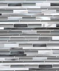 MODERN KITCHEN Backsplash Ideas Black Gray Tiles - Gray backsplash tile