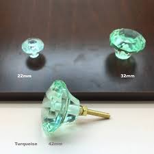 coloured glass door knobs coloured faceted glass cupboard door knobs drawer pull by g decor