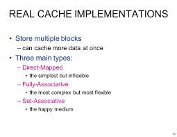 Direct Mapped Cache 1 Ece243 Storage 2 A Storage Mechanism Can Be Two Of U2013fast