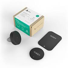 porta iphone 5 auto aukey皰 supporto magnetico auto universale car magnetic air vent