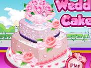 Wedding Cake Games Rose Wedding Cake 3 Play The Game Online