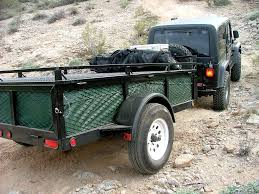 jeep offroad trailer expeditions west jumping jack jump up tent and utility trailers