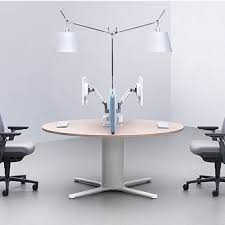 orhp16rd orb high post full desk 1600mm dbi furniture solutions