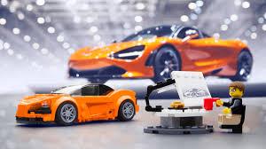 orange mclaren 720s you can build a lego mclaren 720s