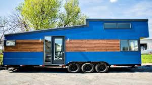 tiny house on wheels modern spacious kitchen u0026 bath small home
