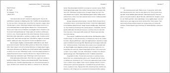 essay format double spaced mla formatting for essays format essay header understanding and