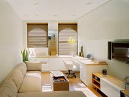 great interior design for small living room and kitchen with