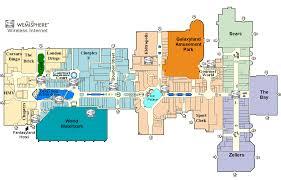 Galleria Mall Map West Edmonton Mall Map Mall Xplorer