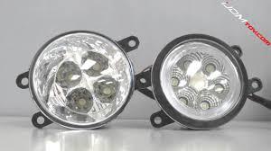 toyota lexus and scion 18w vs 6w high power led fog light assemblies for toyota lexus