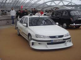 peugeot 406 tuning taxi marseille