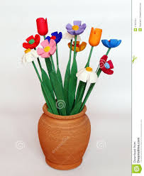 wooden flowers wooden flowers stock image image of vase craftsmanship 17587541