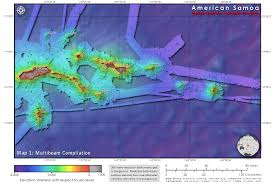 American Samoa Map National Marine Sanctuary Of American Samoa Gis Data