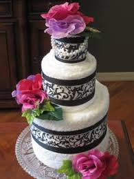 towel cakes wedding towel cake view topic pictures