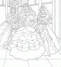 barbie coloring pages printable kids coloring