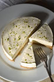 cuisine sans cuisson cheesecake au citron vert sans cuisson recette tangerine zest