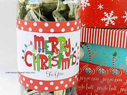 it u0027s written on the wall christmas cash gift idea fill a soda