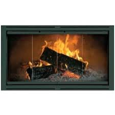 fireplace door glass replacement prefab fireplace glass doors starting at 199 free shipping