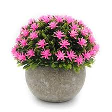 Topiary Balls With Flowers - amazon com okfcus artificial ball topiary plants grass fake