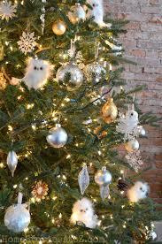 home tour tree owl and holidays