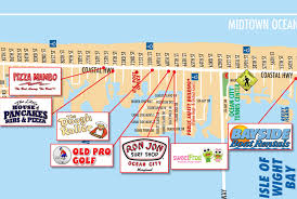 City Map Local Maps Ocean City Md Chamber Of Commerce
