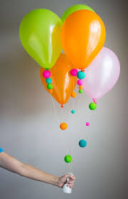 i love how the colorful foam balls transform balloons gorgeous