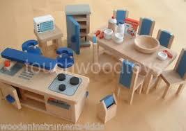 dolls house kitchen furniture dolls house kitchen modern wooden dolls house kitchen furniture ebay