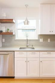 backsplash countertop cabinets kitchen pinterest