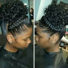 cute pin up hairstyles for black women stunning black braid updo hairstyles images styles ideas 2018